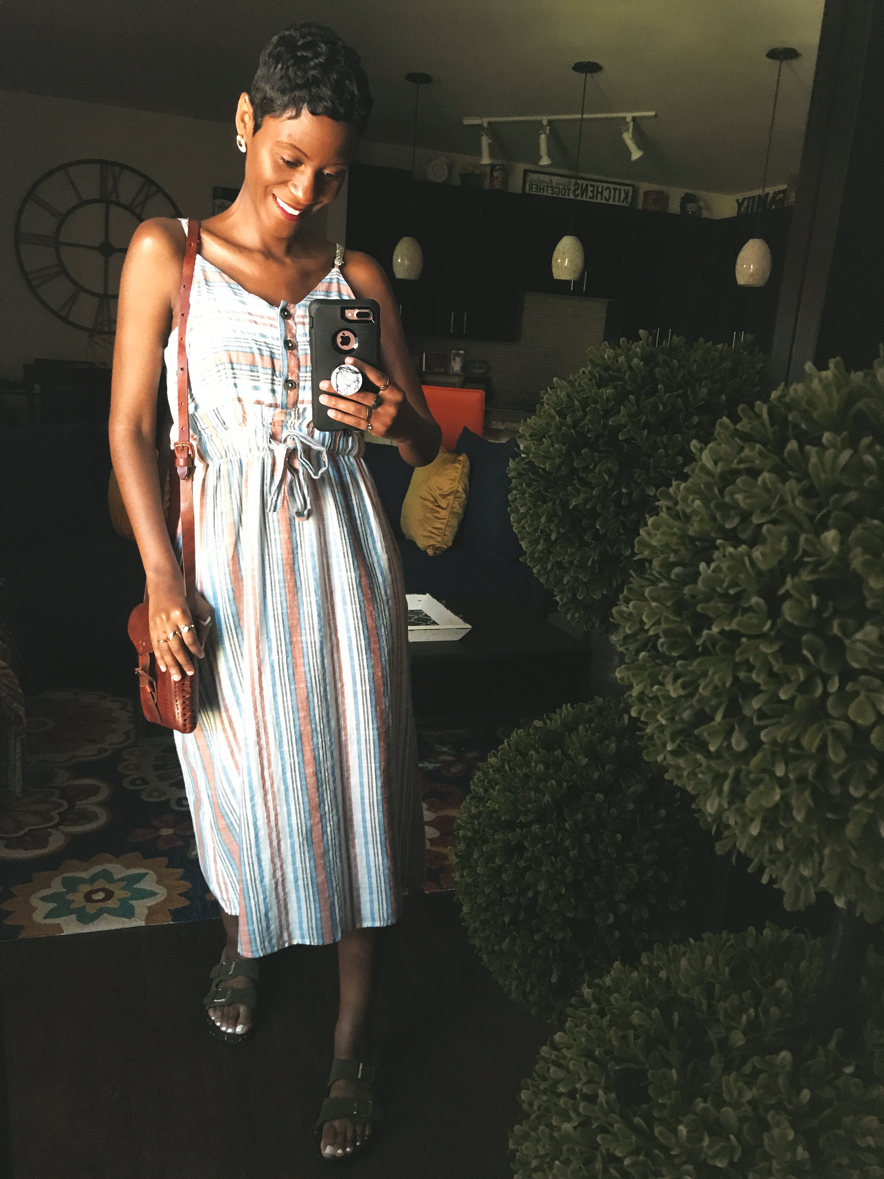 The Pastel Stripe Dress I Am Restyling This Summer