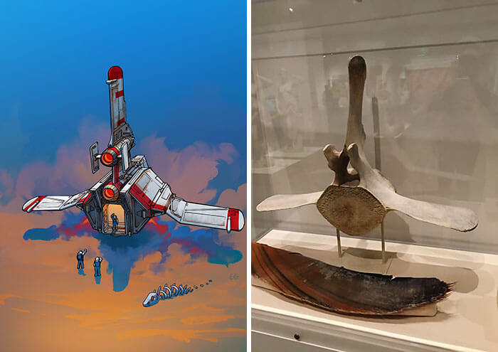 11 Incredible Artistic Transformations Of Everyday Objects Into Spaceship Designs