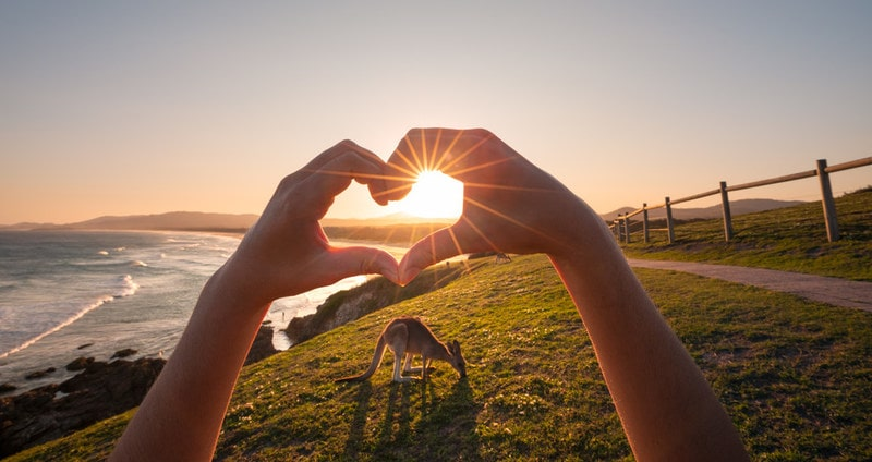 Share The Love To Show The Love - NSW's Tourism Recovery Campaign With Heart