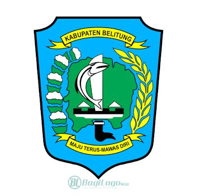 Kabupaten Belitung Logo Vector
