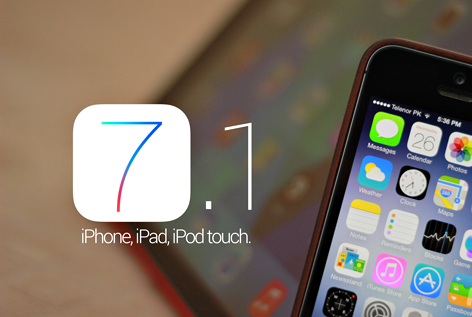 Download Apple iOS 7.1 last version
