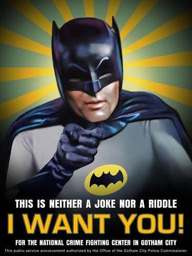 Uncle Sam Wants You Parody BAT - BLOG : BATMAN TO...