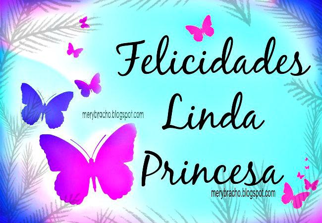 Feliz cumpleanos 15 princesa