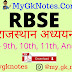 Download Rajasthan Adhayn Class 9th, 10th, 11th, And 12th PDF