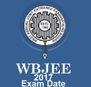 WBJEE 2017 Exam Date
