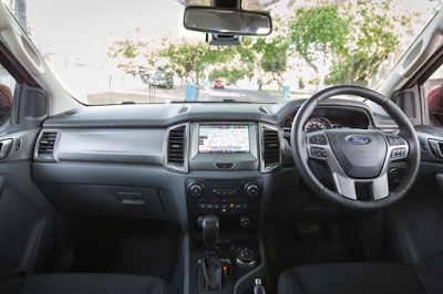 Interior Dashboard All New Ford Everest