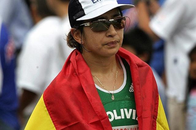 La otrora marchista boliviana tuvo un cruce verbal con el ministro de Deportes desde 2018 / ARCHIVO WEB