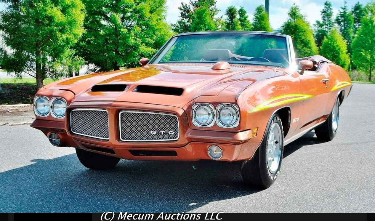 medium resolution of production of pontiac gto convertibles ceased about the middle of winter 1971 not long after the judge option itself was canned this double whammy took the