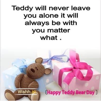 Happy Teddy Bear Day quotes for Boyfriend In Hindi