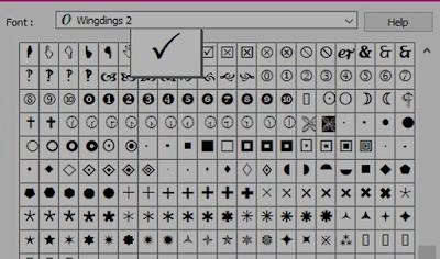 Cara Membuat Simbol Ceklis di Word dengan Mudah