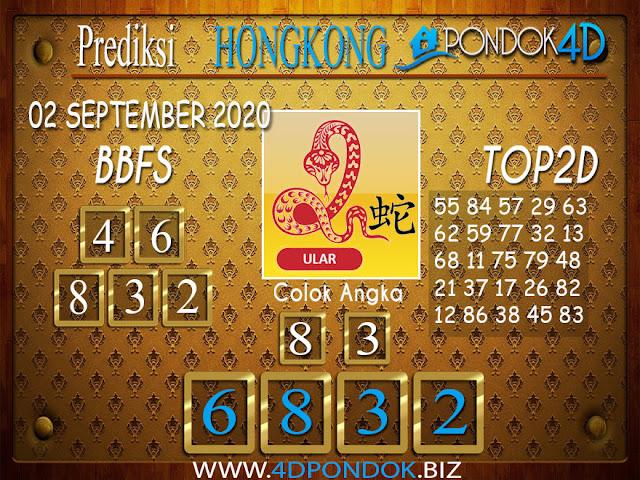 Prediksi Togel HONGKONG PONDOK4D 02 SEPTEMBER 2020