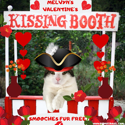 Melvyn's Kissing Booth at BBHQ ©BionicBasil® on The Sunday Selfies