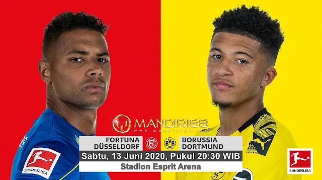 Prediksi Fortuna Dusseldorf Vs Borussia Dortmund, Sabtu 13 Juni 2020 Pukul 20.30 WIB @ Mola TV