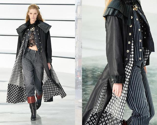 Chanel осень 2020 зима 2021 7