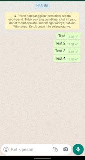 Cara Menghilangkan Centang 2 Biru Di Wa (WhatsApp)