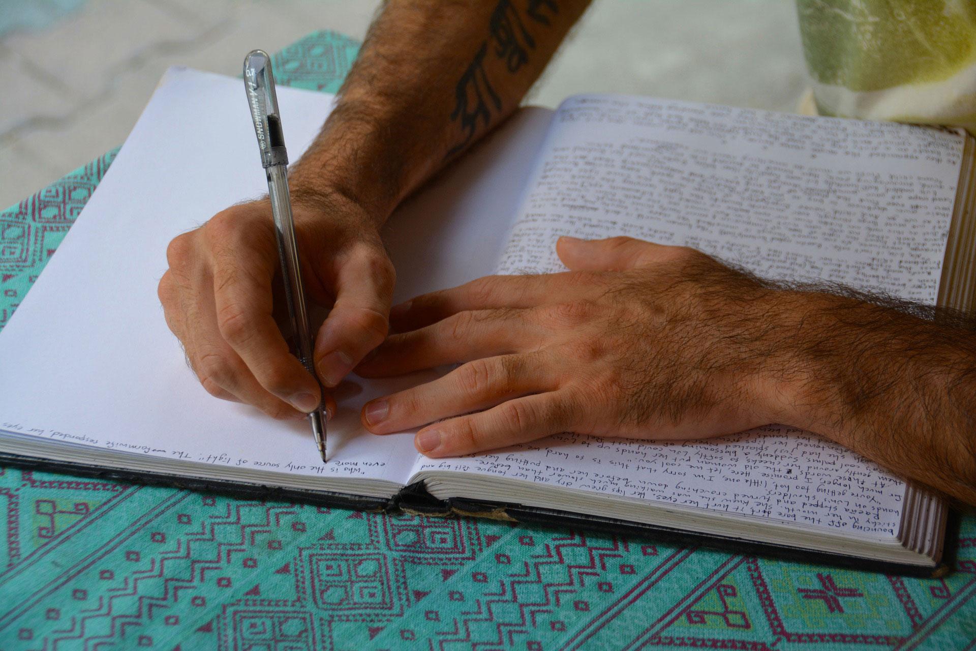 איך מתחילים לכתוב