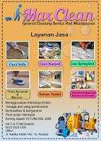 Layanan Jasa Max Clean Pekanbaru