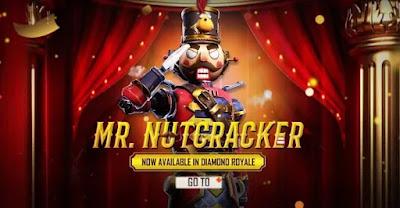 Free Fire Mr Nutcracker Bundle Redeem Code For Free