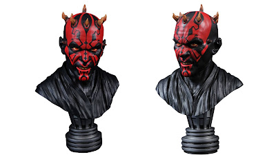 Star Wars: The Phantom Menace Darth Maul Legends in 3D ½ Scale Resin Bust by Diamond Select Toys