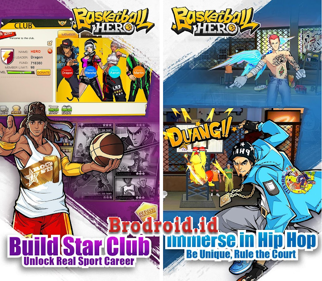 Download Basketball Hero-Freestyle 2 Apk v1.0.0 Terbaru