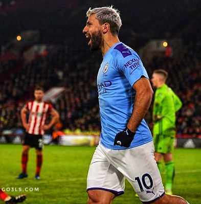 Aguero pictures Manchester City player