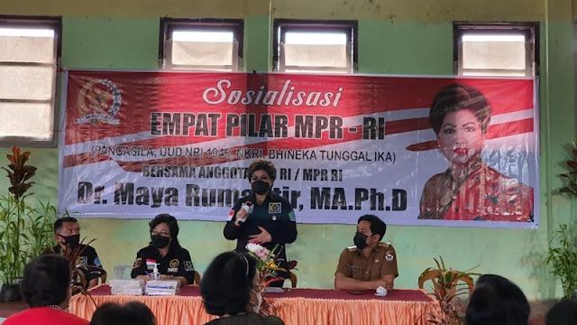 Senator Maya Rumantir Dukung Desakan Gerakan Perempuan Sulut Terkait Hal Ini