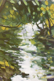 Painting of the River Wharfe