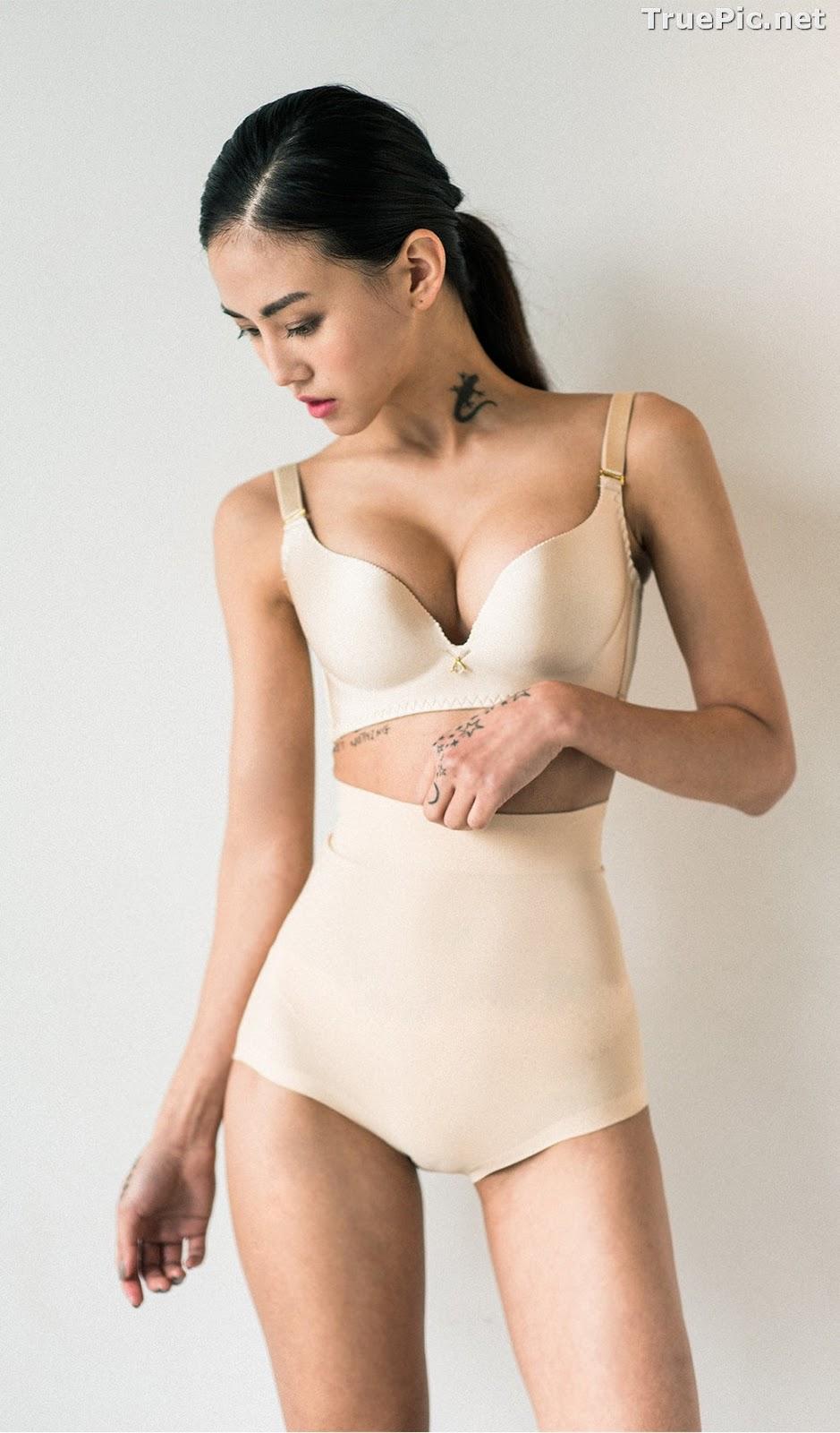 Image Korean Fashion Model – Baek Ye Jin – Sexy Lingerie Collection #5 - TruePic.net - Picture-3
