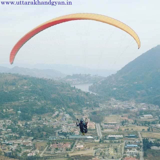 Bhimtal Paragliding