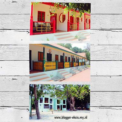 pilihan tempat menginap atau cottage di Pulau Bidadari