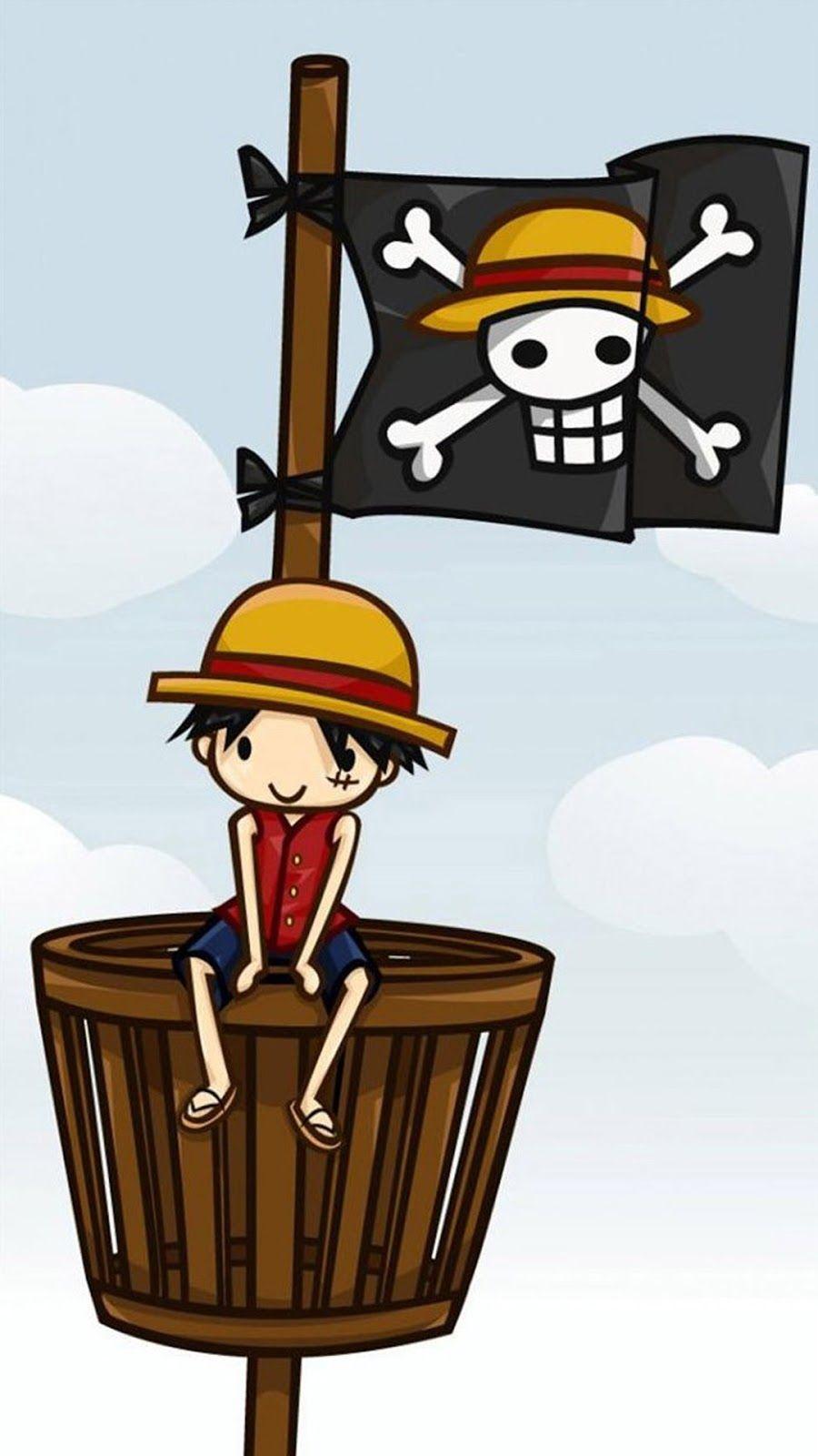 Hình Nền Monkey D.Luffy Cute Cho Điện Thoại, Miễn Phí & Chất Lượng