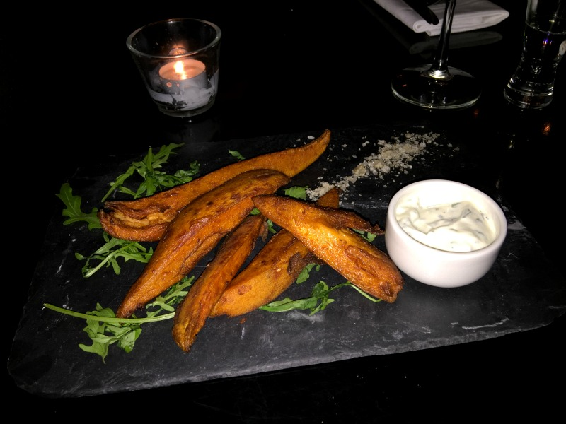 Sweet potato wedges at Grill on the Corner Glasgow