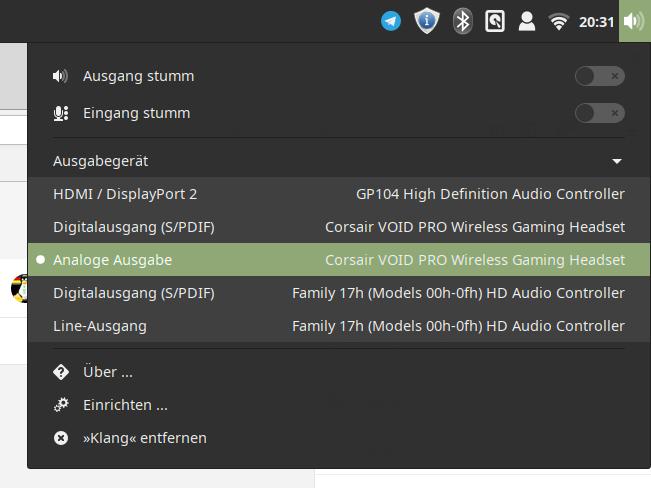 Corsair Void Pro Rgb Wireless Linux