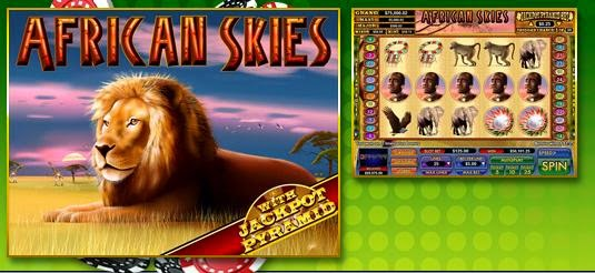 Slot Madnes casino African Skies slot