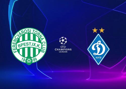 Ferencvaros vs Dynamo Kyiv -Highlights 28 October 2020