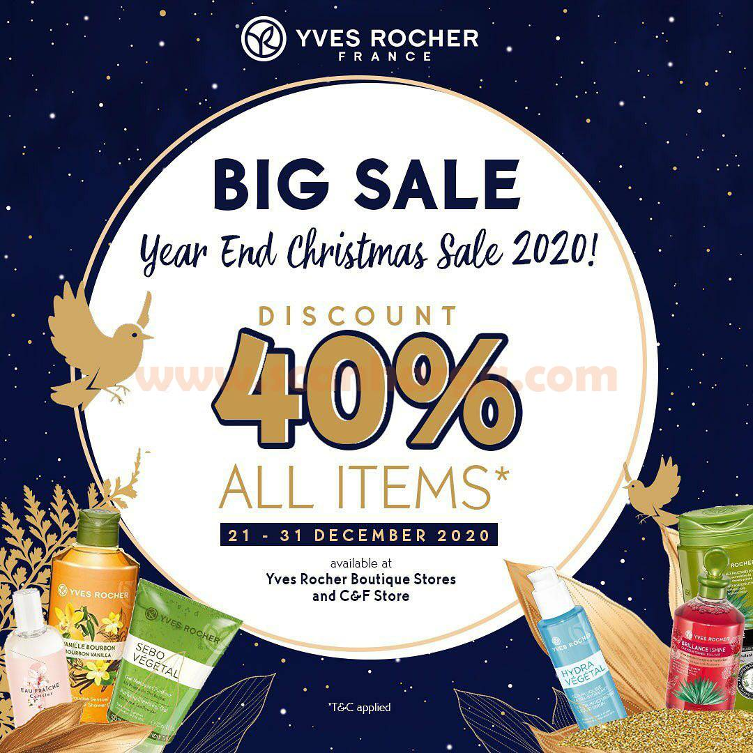 Yves Rocher Special Promo Year End BIG SALE Disc. 40% OFF all items