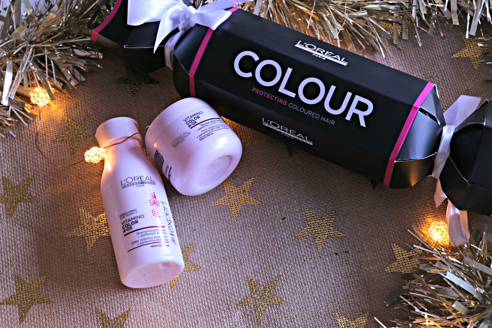 L'Oreal Professionnel Cracker Série Expert Vitamino Colour shampoo and conditioner Image