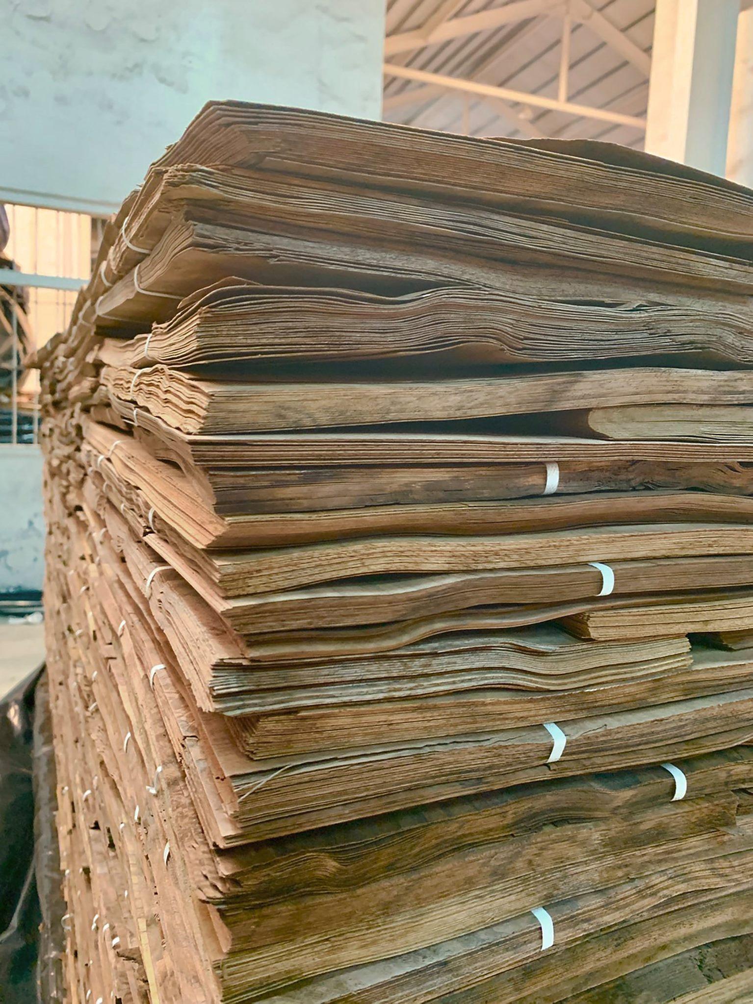 珍貴的天然實木皮