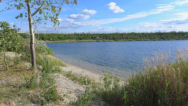 Badestelle am Werbener See
