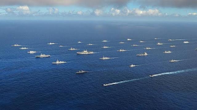 Gencet China, Militer Amerika dan India Latihan Perang Dekat Aceh