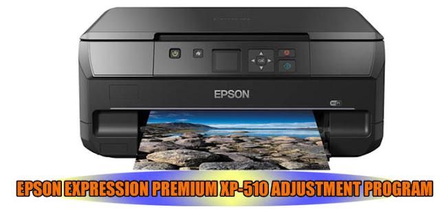 EPSON EXPRESSION PREMIUM XP-510 ADJUSTMENT PROGRAM
