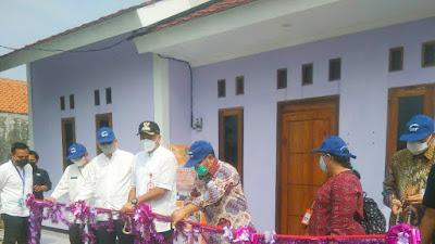 17 Rumah Layak Huni di Desa Ketapang Mauk di Resmikan Bupati Tangerang