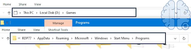 Mengetahui Lokasi File Asli Dari Shortcut Windows
