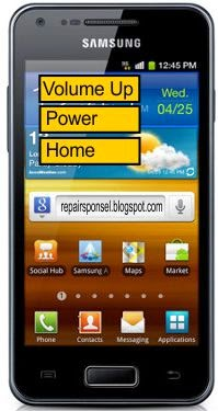Cara Reset Samsung Galaxy Advance I9070