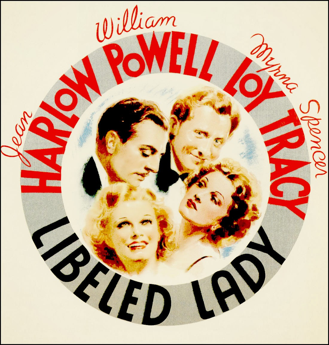 Image result for libeled lady 1936