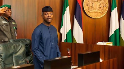 OFFICE OF THE VICE PRESIDENT PRESS RELEASE - OSINBAJO TO YOUNG NIGERIANS: COVID-19 PANDEMIC OFFERS YOU OPPORTUNITY TO PROFFER SOLUTIONS TO PROBLEMS NOW AND COMING YEARS