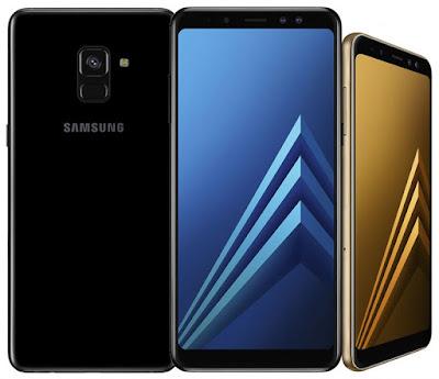 Spesifikasi Samsung Galaxy A8+   Samsung Galaxy A8 series mempunyai dua kamera selfie 16 MP normal angle dan 8 MP wide angle f/1.9, memiliki fitur beautify Yaitu menghaluskan dan meniruskan wajah serta membesarkan kelopak mata dan masih memiliki fitur sticker.  Memiliki baterai 3.500 mAh yang mampu bertahan dalam screen-on-time enam jam atau lebih dengan penggunaan streaming dan game online, juga dilengkapi dengan fitur  pengisian cepat. Mengisi baterai dalam kondisi menyala, hanya memerlukan waktu 1 jam 15 menit untuk mengisi 90 persen dan 1 jam 40 menit untuk isi penuh.  Samsung Galaxy A8+ (2018) memiliki Desain premium yang solid, dan memiliki spesifikasi yang semakin bagus, juga dilengkapi dengan layar FULL HD dan memiliki kamera yang canggih. Untuk itu, perpaduan desain dan spesifikasi tersebut menjadikan harga dari Samsung Galaxy A8+ ini memiliki harga yang fantastis.               Kelebihan Desain elegan dan tidak pasaran, dengan bodi kokoh dan finishing rapi  Tersedia slot microSD khusus, di luar dual slot simcard  Mendukung semua operator 4G di Indonesia, termasuk smartfren dan Bolt.  Mendukung jaringan 4.5G, saat nanti sudah ditawarkan oleh operator  Hasil kamera bagus, baik kamera belakang maupun depan  Audio jernih dan cukup keras, dengan penempatan speaker yang bagus  Kinerja kencang dan m