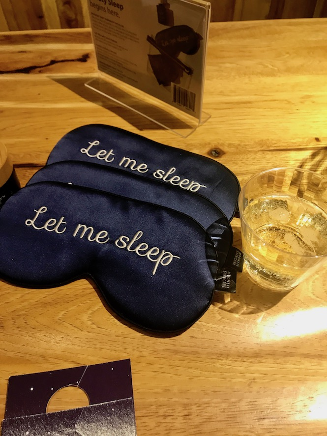 Let Me Sleep Mask