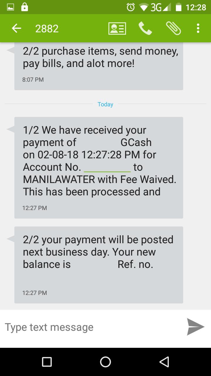 Dropped like a Hatputito: GCash | Messenger Pay Bills Rebate Promo