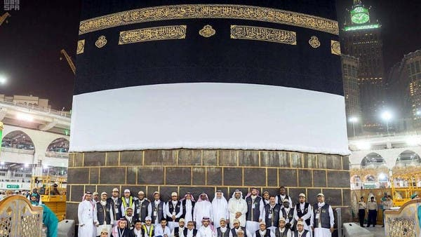 Why is the Kiswah raised every year ahead of Hajj?